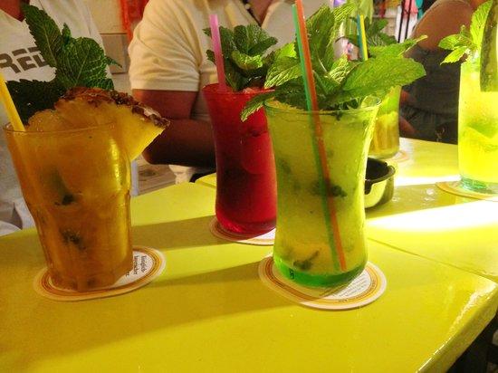 Mojito's in Ibiza stad
