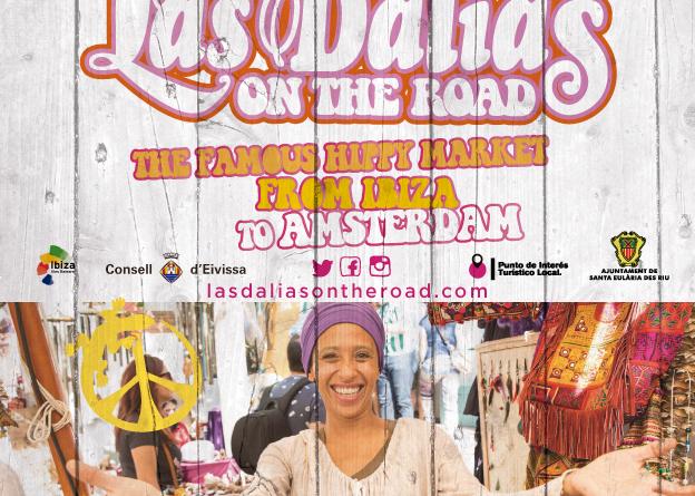 Ibiza hippiemarkt Las Dalias komt naar Amsterdam