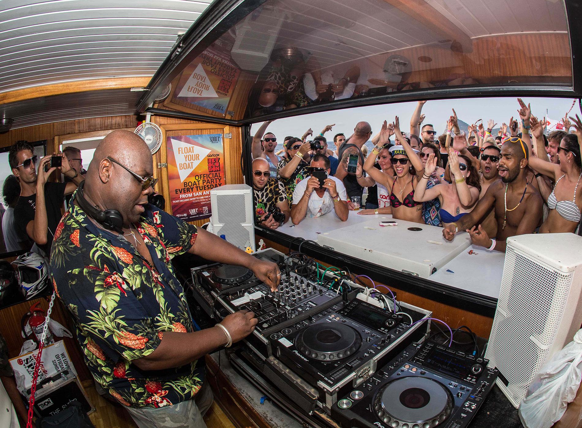 Float Your Boat Ibiza 2016 Carl Cox