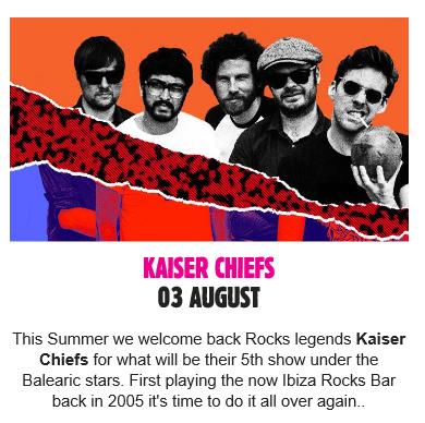 Ibiza Rocks 2016