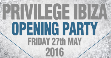 Privilege Ibiza 2016 Opening Party Lineup