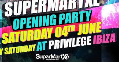SupermartXe 2016 Opening - Privilege Ibiza