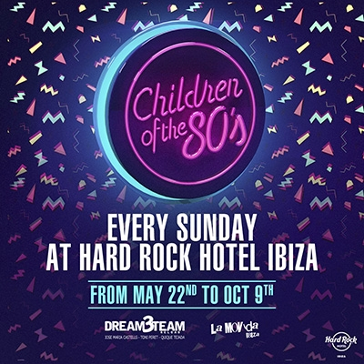 Children of the 80's - Hard Rock Hotel Poster