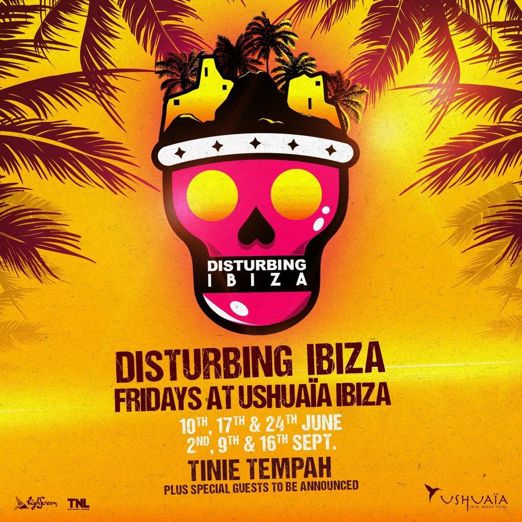 Tinie Tempah - Disturbing Ushuaïa Ibiza