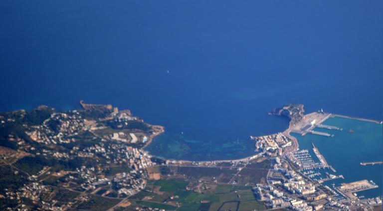 Brand in Puig d'en Valls treft 0,45 hectare