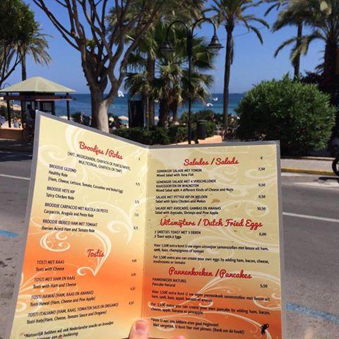 menukaart home looos lunch