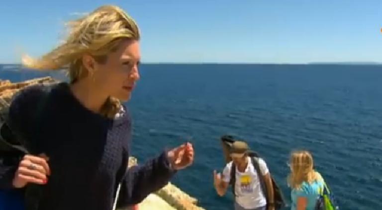 Lauren op Ibiza