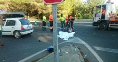 Motorrijder overleden bij ongeval op Ibiza
