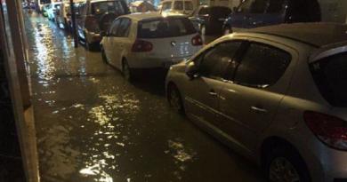 Overstromingen en verkeerschaos op Ibiza