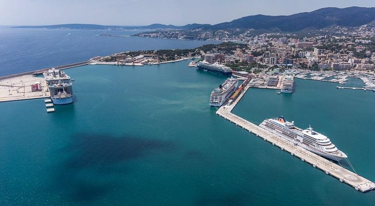 187 cruiseschepen doen Ibiza aan in 2017