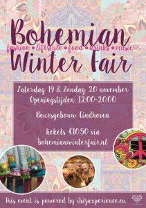 Bohemian Winter Fair Beursgebouw Eindhoven