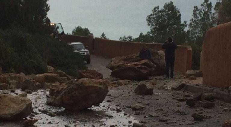 Veel overlast op Ibiza door slecht weer
