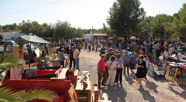 Vlooienmarkten op Ibiza