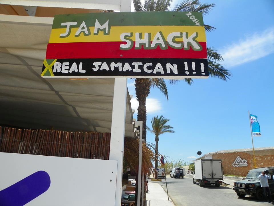 Good vibes, good vibrations - enjoy The Jam Shak Ibiza