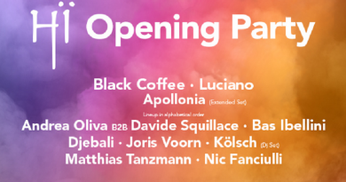 Hi Opening party lineup and tickets