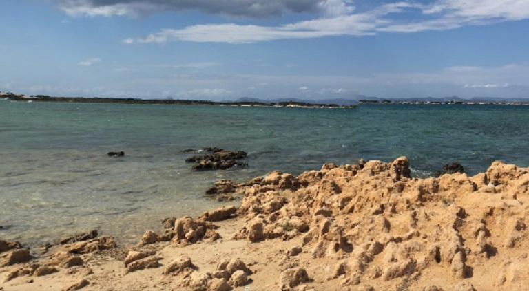 Olievlek aangetroffen in omgeving Es Peix, Formentera