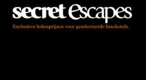 Secret Escapes biedt haar leden exclusieve prijzen aan voor luxe hotels en reizen wereldwijd