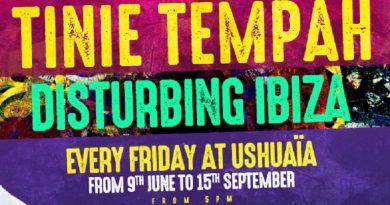 Tinie Tempah - Disturbing Ushuaia Ibiza 2017
