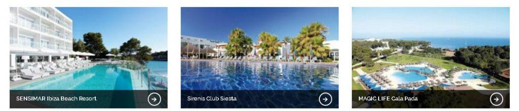 VakantieXperts - 3 Tophotels op Ibiza