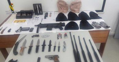 Guardia Civil treft wapenarsenaal aan op Ibiza