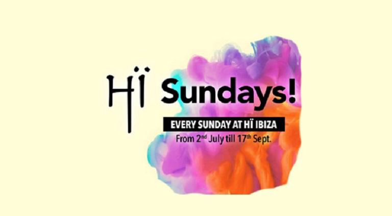 Hï Sundays - Every sunday at Hï Ibiza