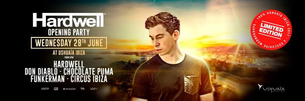 Limited Edition opening party with Hardwell1