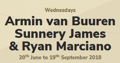 Hï Ibiza 2018 Armin van Buuren Sunnery James & Ryan Marciano