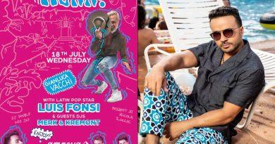Luis Fonsi komt naar Ibiza op 18 juli 2018